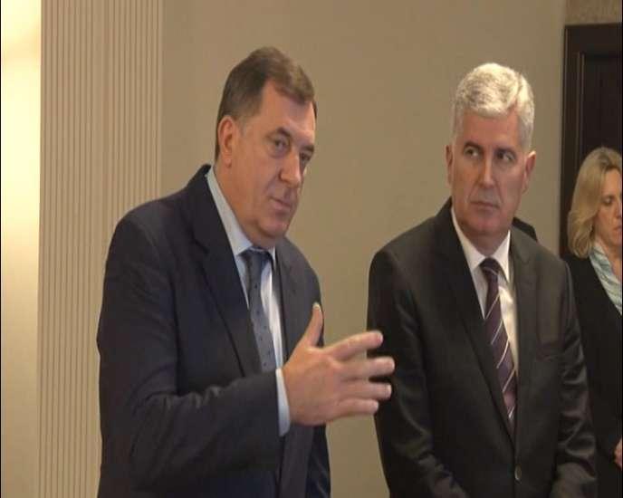 Dodik i Čović o saradnji