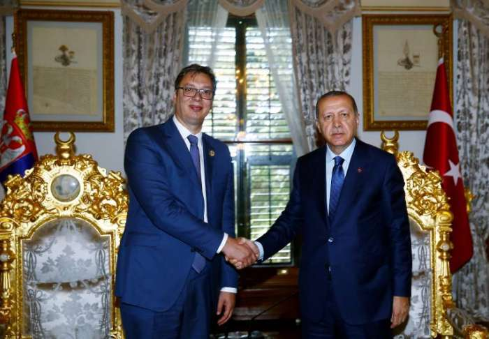 """""""Erdogan i Vučić dogovorili 'kružni' autoput Beograd-Sarajevo"""""""