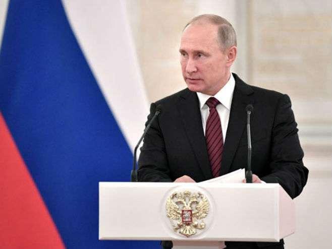 Putin: Upotreba sile odgovara teroristima
