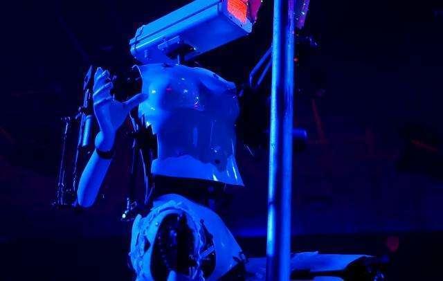 Budućnost je stigla u striptiz klub u Vegasu – VIDEO