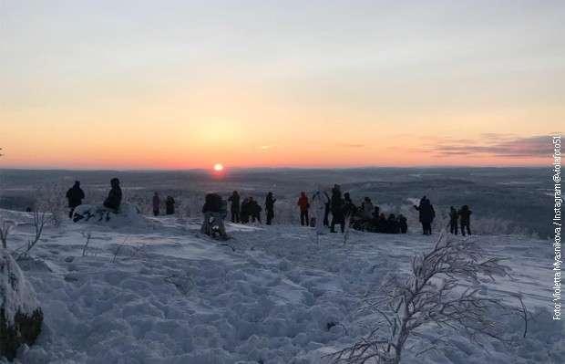 Prvi izlazak sunca posle 40 dana!