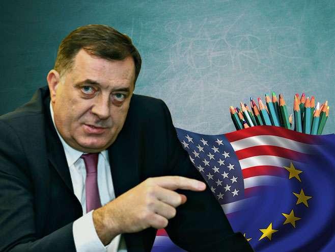 Dodik: Nisam protiv SAD i EU, ali jesam protiv držanja lekcija