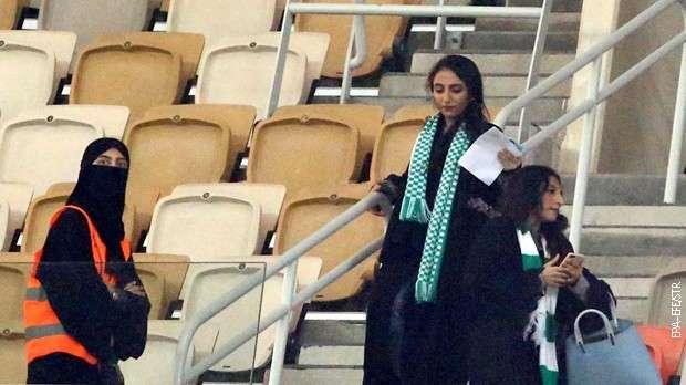 Žene u Saudijskoj Arabiji konačno mogu na fudbalske utakmice