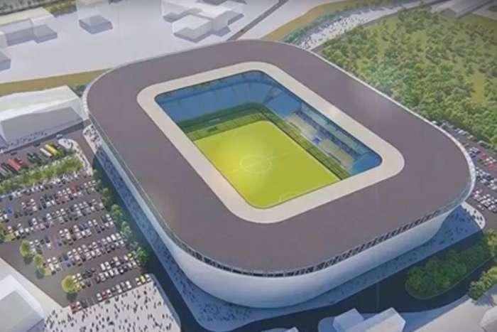 """Pogledajte kako bi mogao izgledati novi stadion na kojem bi igrali """"Zmajevi"""""""