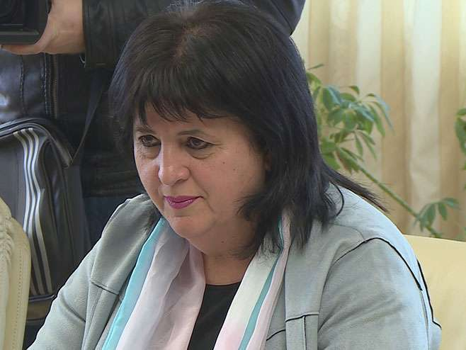 Golićeva predvodi delegaciju na svečanom prijemu u Istočnom Sarajevu