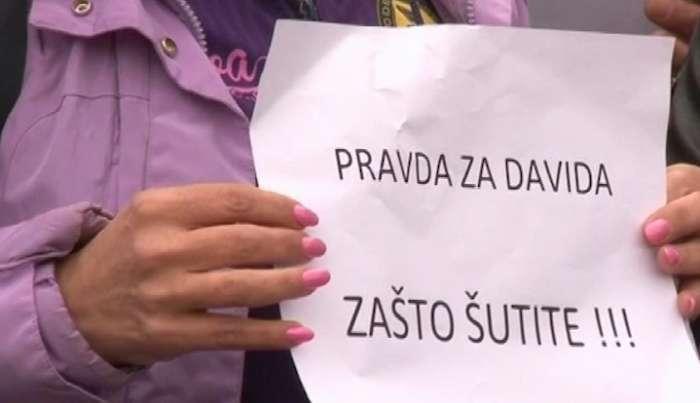 """""""Pravda za Davida"""" 23. okupljanje- DNS pozvao MUP na ostavke zbog neadekvatne istrage (VIDEO)"""