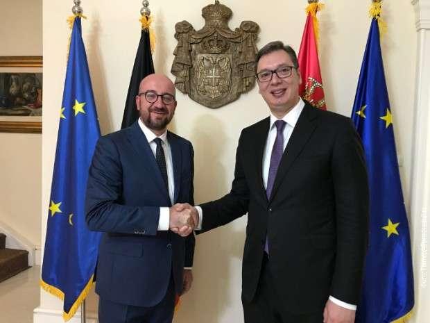 Vučić sa Mišelom o bilaterali, EU integracijama, regionu