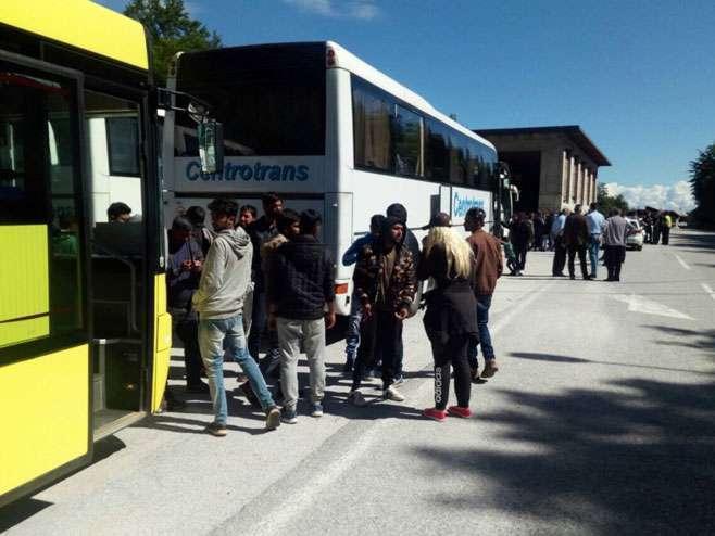 Vlada HNK naredila vraćanje migranata iz Sarajeva