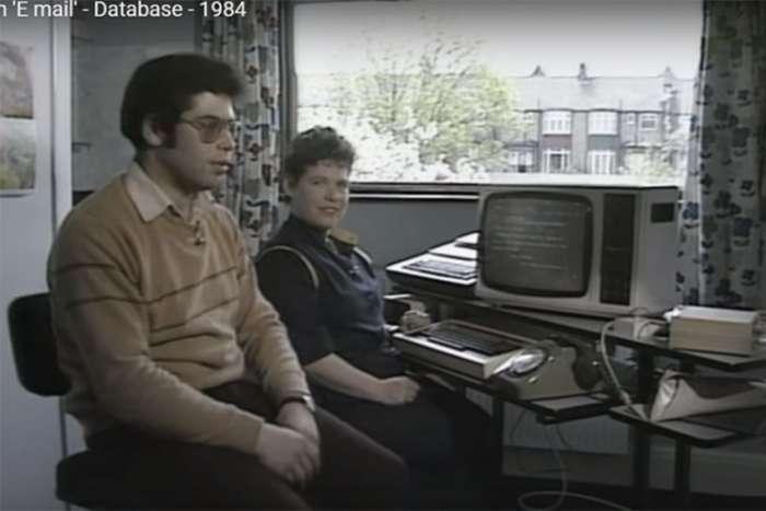 Ovako je izgledalo slanje e-maila 1984. godine – VIDEO