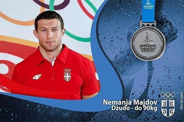 Srebro za Majdova, bronza za Vanju Stanković