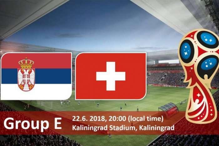 Srbija protiv Švajcarske za osminu finala Mundijala