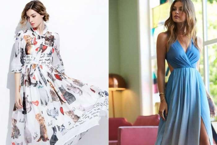 Duge haljine u trendu i ovog ljeta