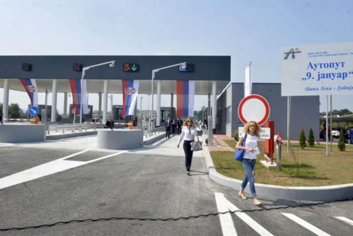 Srpska dobila 54 miliona maraka od naplate putarina