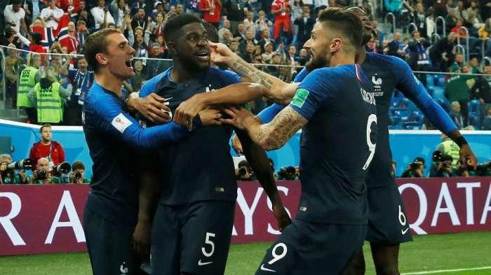 Francuska prvi finalista na SP u Rusiji,Umtiti heroj Trikolora