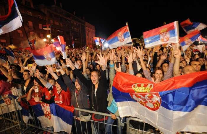 Beograd: Doček vaterpolista i Olge Danilović