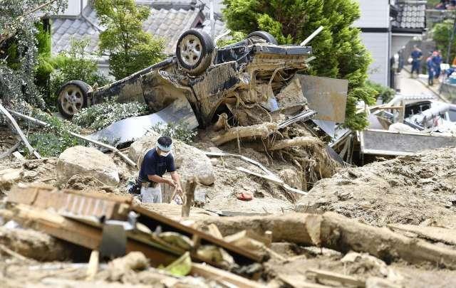 Japan: Nakon katastrofalnih poplava, prijeti zaraza