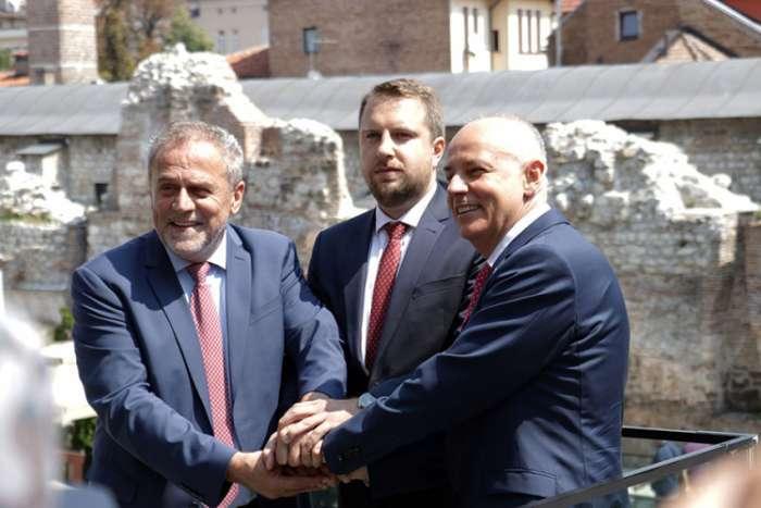 Gradonačelnici Beograda, Zagreba i Sarajeva prvi put zajedno o saradnji