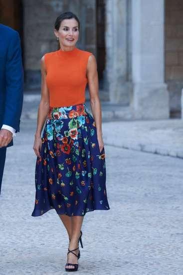 Suknja kraljice Leticije je kao najlepša bajka o kojoj svaka žena sanja