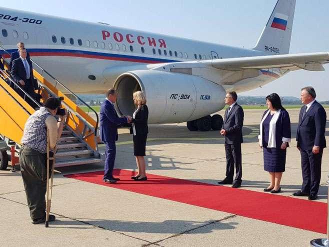 Lavrov stigao u Banjaluku