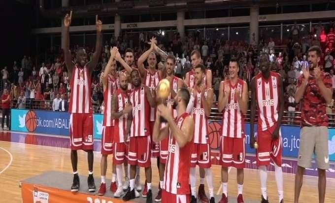 Trofej za Crvenu zvezdu na otvaranju sezone