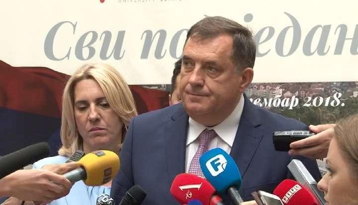 """Dodik zahvalio Lavrovu na političkim stavovima i kritikovao Crnadka što je predao pismo grupe """"Pravda za Davida"""" (VIDEO)"""