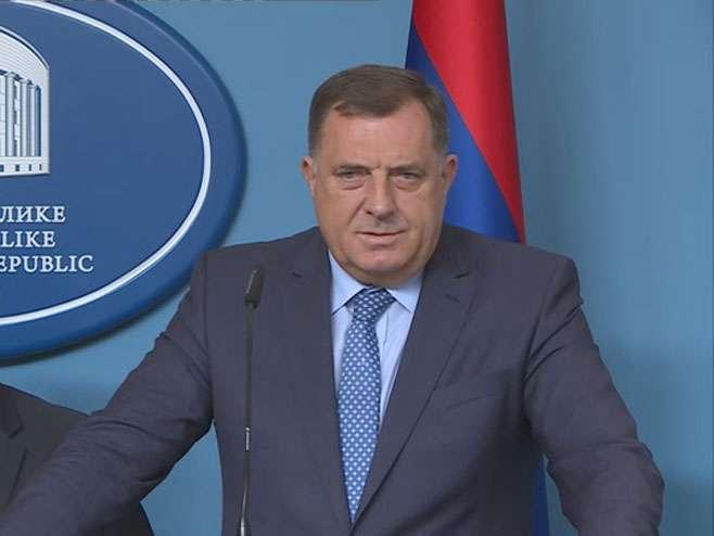 Dodik: Sakrivanje dokumenta o masakru nad Srbima zločin prema istini i pravdi