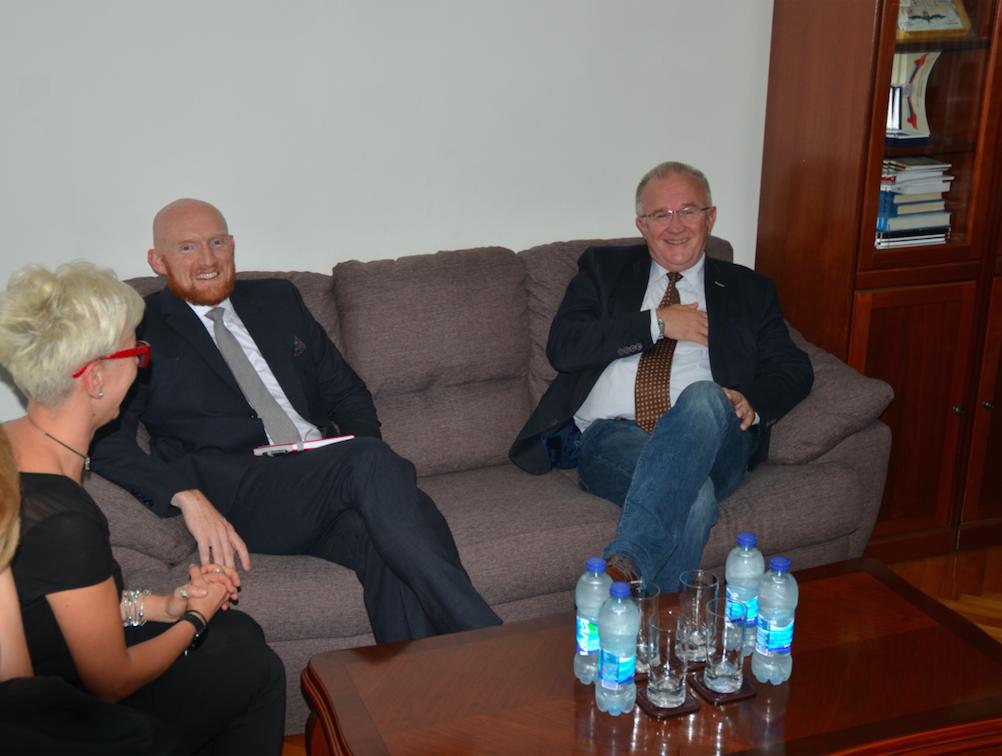 Čavić sa novoimenovanim britanskim ambasadorom u Banjaluci