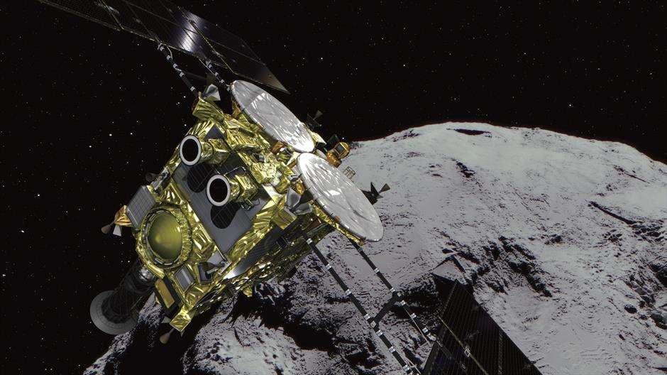 Japanske sonde došle do asteroida