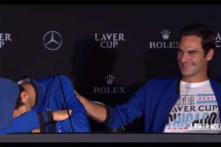 Đoković: Videću da Rodžer sledeći put nosi hokejaški prsluk (VIDEO)