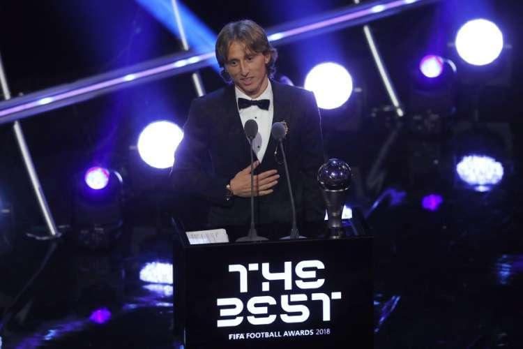 """Modriću nagrada """"The Best"""" za najboljeg fudbalera svijeta"""