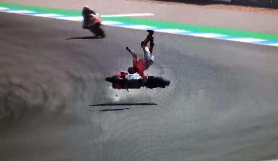 """Lorenco je """"poletio"""" nakon stravičnog pada, nakon svega dobio """"samo"""" modrice (VIDEO)"""