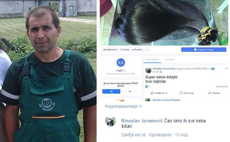 """""""Malčanski berberin"""" na Fejsbuku ostavlja komentare od kojih se ledi krv u žilama"""