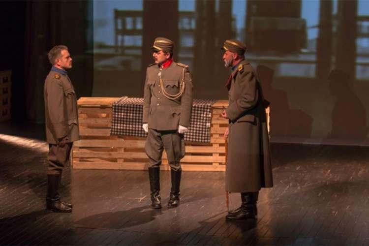 "Premijerno izvedena predstava ""Kolubarska bitka"""