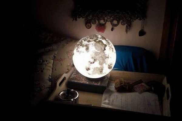 Mjesečeva lampa unosi magiju u vaš dom