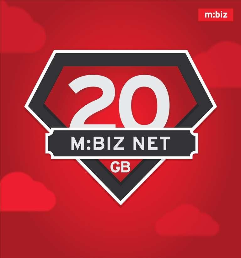 Nova M:biz Net tarifa sa 20 GB neta