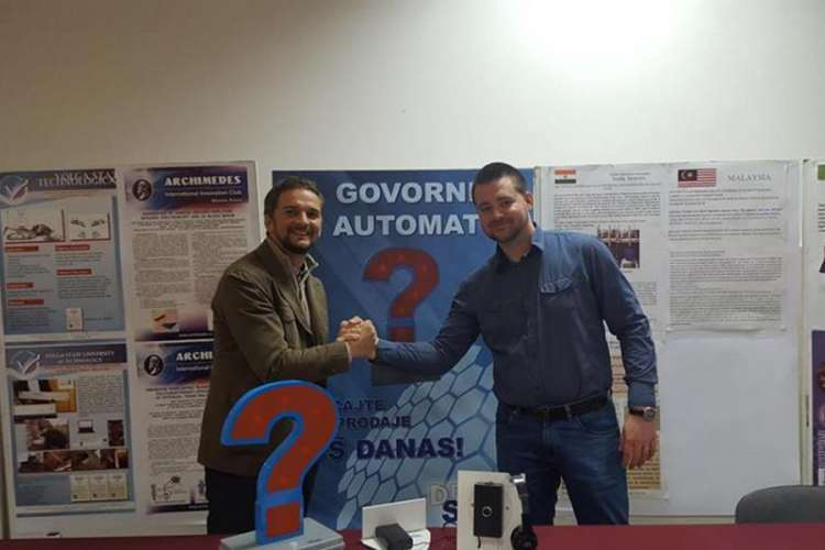 Nemanja Vujanić iz Banjaluke osmislio govorni automat za reklamiranje