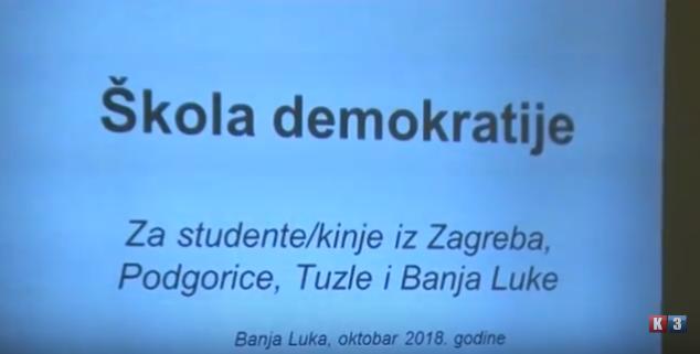 Banja Luka: Demokratija sve urušenija u BiH (VIDEO)