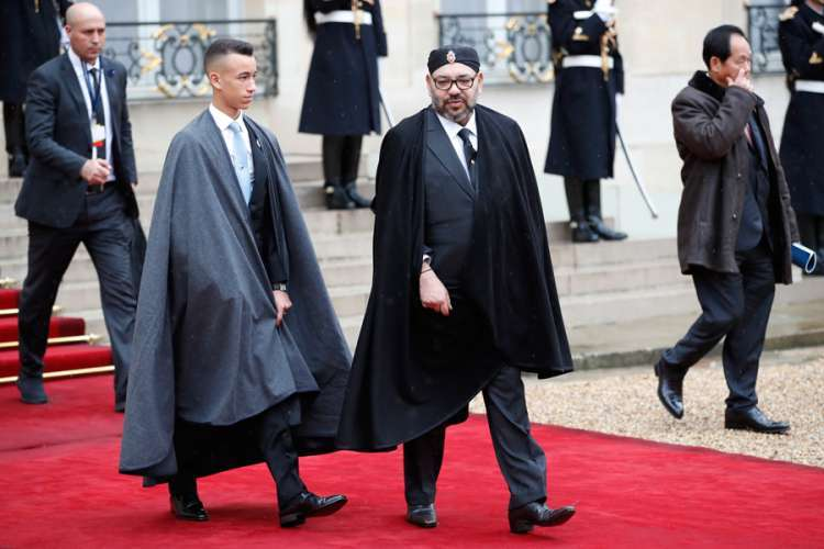 Makronov govor uspavao kralja Maroka