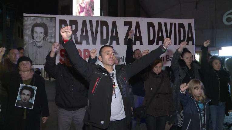 """Banja Luka: 259. put okupljanje """"Pravda za Davida"""" (VIDEO)"""