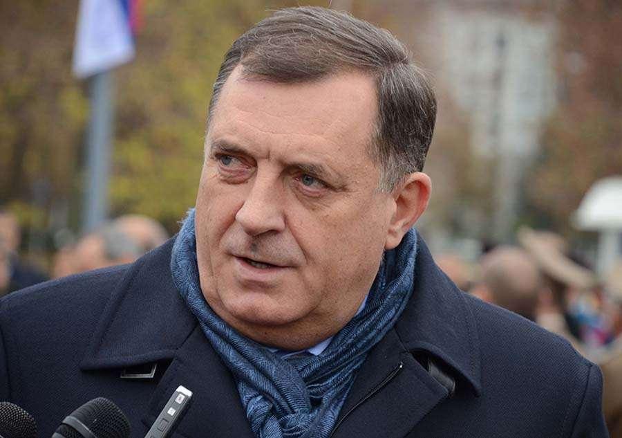 Dodik otkazao konsultacije zbog zastave