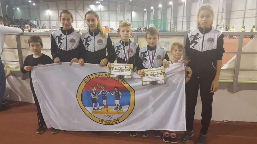 "Atletičari ""Sana"" osvojili zlato i srebro"