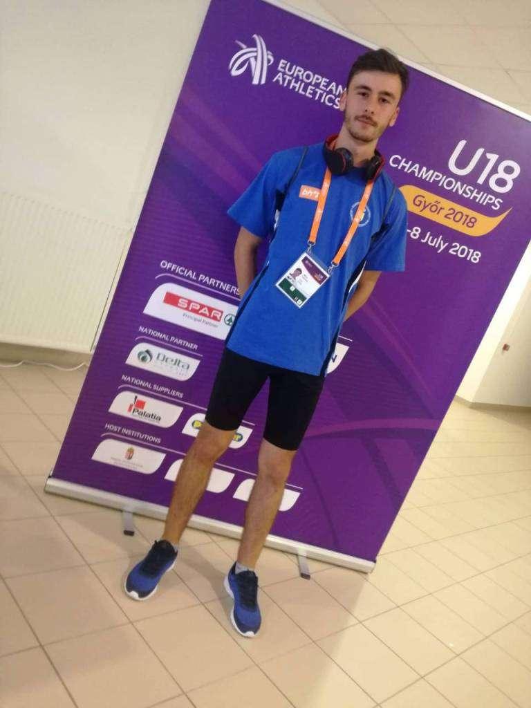 Prnjavor:Vidović državni rekorder BiH na 200 metara