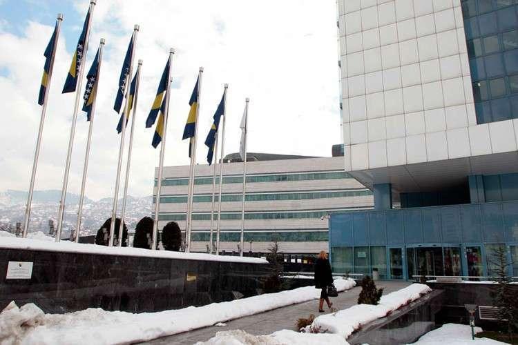 Zastava RS pred poslanicima Parlamenta BiH