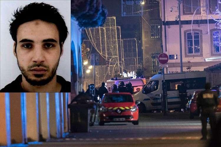 Ubijen napadač iz Strazbura