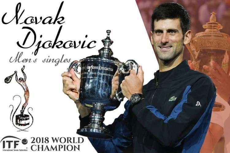 Novak Đoković i Simona Halep proglašeni za najbolje tenisere u 2018. godini