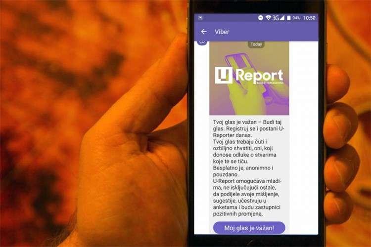 Šta je U-Report, novi servis na Viberu?