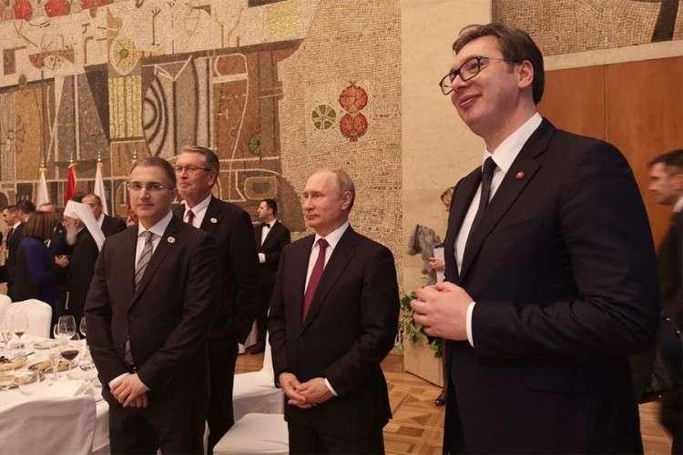 Detalji Putinove posjete koje kamere nisu zabilježile
