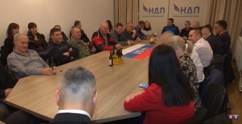 Doboj: NDP podržao Jerinića (VIDEO)