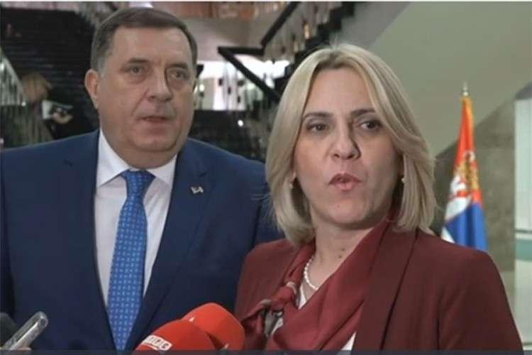 Cvijanović i Dodik: Rusiju i Srpsku vežu prijateljstvo i razumijevanje