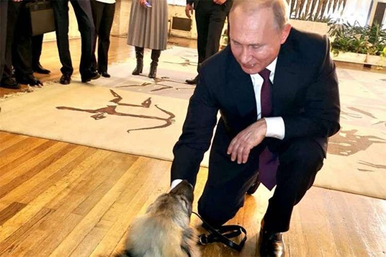 Paša dočekao Putina